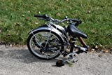 "Columba 20"" Steel Folding Bike w. Shimano 7 Speed Black (LW20S_BLK)"