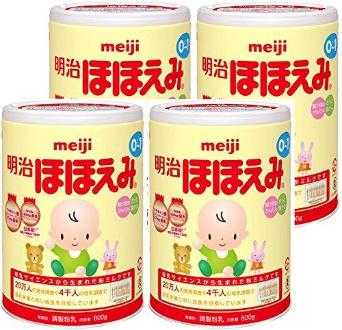 明治ほほえみ 800g×4缶パック (景品付き)