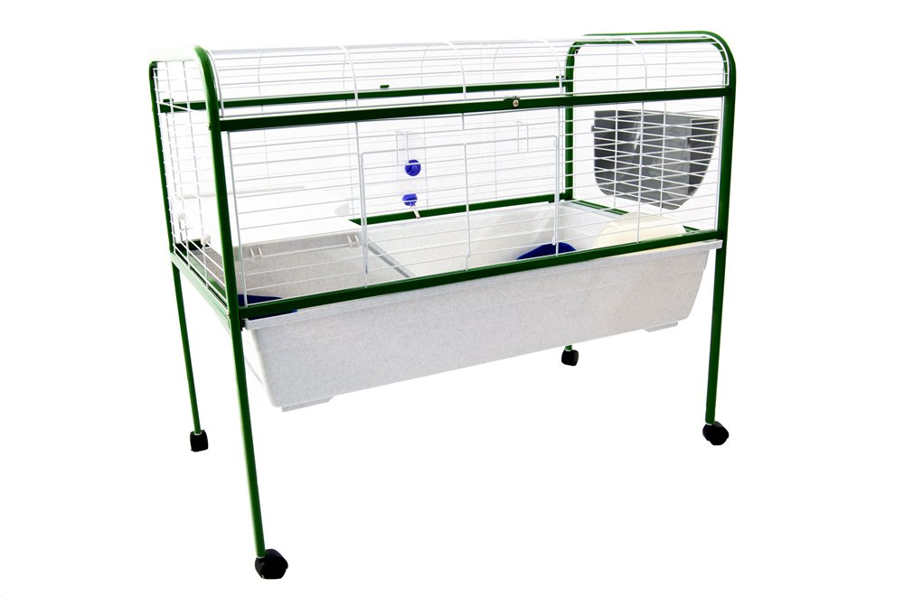 Indoor Guinea Pig / Rabbit Cage on Stand  - large