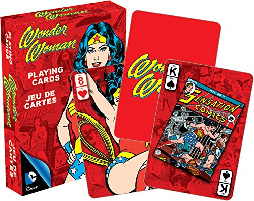 Aquarius DC Wonder Woman Retro Playing Cards - 1