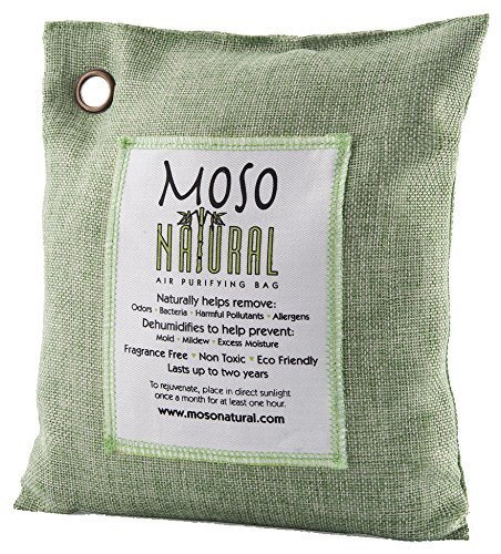 Moso Natural Air Purifying Bag, 500gm, Green (Clean N Green Rv Toilet compare prices)