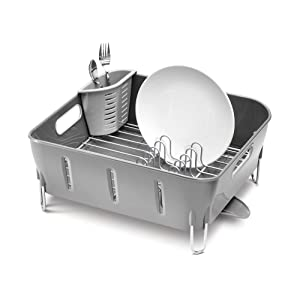 simplehuman compact dish rack review