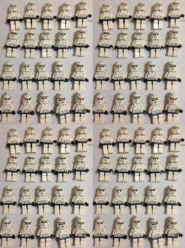 Clone Trooper 100 Lego Minifigures- Star Wars