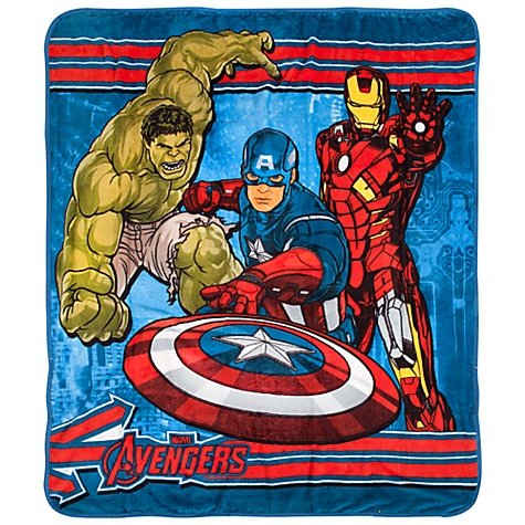 The Avengers Micro Raschel Throw