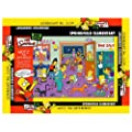 The Simpsons Wotz' the Difference? Springfield Elementary Jigsaw Puzzle 500 pcs