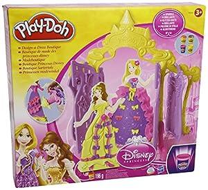 Playdoh Disney Princess Design a Dress Boutique by Playdoh Disney Princess