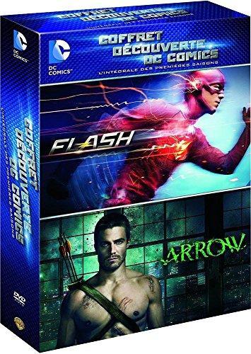 Coffret-dcouverte-DC-Comics-lintgrale-des-premires-saisons-Flash-Arrow