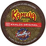 Timothys World Coffee Kahlua Original K-Cups for Keurig Brewers (Pack of 96)