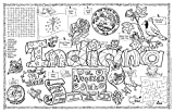 Gallopade Publishing Group Indiana Symbols and Facts Fun Sheet - Pack of 30 (9780635062802)