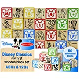 Disney Baby Classics My First ABC and 123 Wooden Block Set