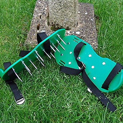 Lawn Aerator Shoes/Lawn Breather/Heavy Duty Spike Lawn Aerator Sandals/Garden Lawn Aerator Shoes Bring New Life To Lawns