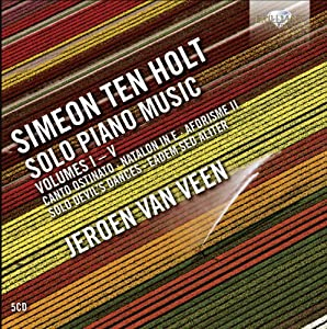 Simeon Ten Holt: Solo Piano Music Volumes I-V