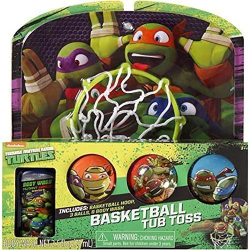 "Teenage Mutant Ninja Turtles Bathtub Basketball ""Tub Toss"" Gift Set - 1"