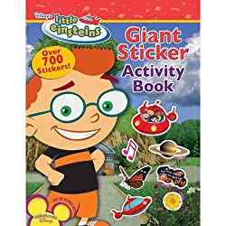Playhouse Disney's Little Einsteins Giant Sticker Activity Book