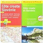 C�te croate Slov�nie : 1/300 000