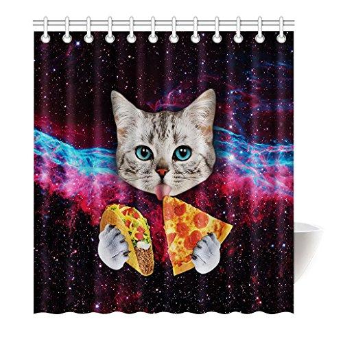 violetpos-duschvorhang-galaxy-cat-essen-pizza-mode-hochwertige-qualitat-badezimmer-180-x-200-cm