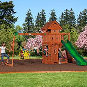 Monterey Cedar Swing /Play Set