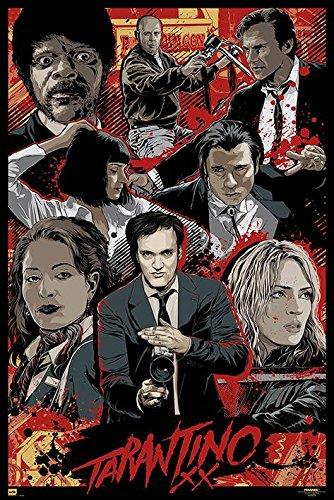 Quentin Tarantino XX Poster Standard
