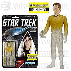 Star Trek: The Original Series Beaming Kirk ReAction 3 3/4-Inch Retro Action Figure - Limted Edition