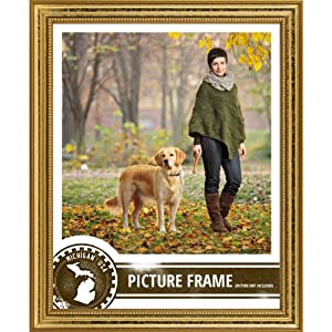 Craig Frames 314GD2436DAC 0.75-Inch Wide Picture/Poster Frame in Ornate Finish, 24 by 36-Inch, Ornate Gold