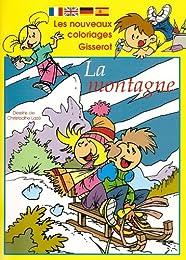 Petits Coloriages Gisserot : la Montagne