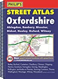 Philip's Street Atlas Oxfordshire: Spiral Edition