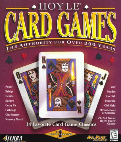 Hoyle Card Games (PC) Solitaire, Spades, Hearts, Pinochle