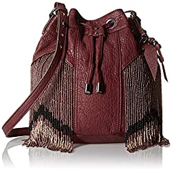 Jessica Simpson Kinsley Drawstring Cross Body Bag