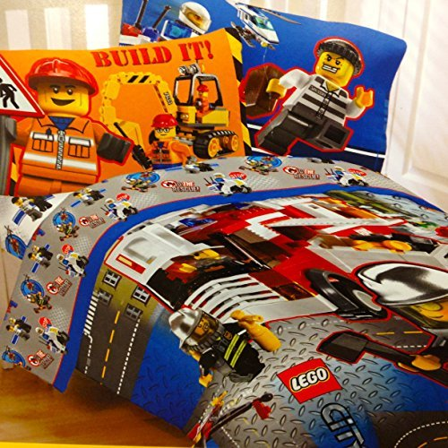 V V Lego Bedding Boys Comforter Amp Sheet Set Tractors