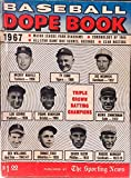 img - for Baseball Dope Book Sporting News 1967 book / textbook / text book