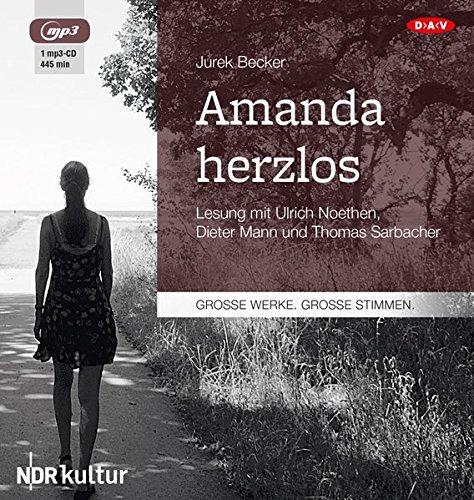 Amanda Herzlos: Lesung mit Ulrich Noethen, Dieter Mann und Thomas Sarbacher
