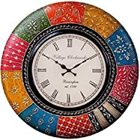 RoyalsCart Boistrous Colors Analog Wall Clock