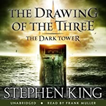 The Dark Tower II: The Drawing of the Three Audiobook by Stephen King Narrated by Frank Muller