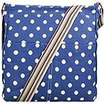 Miss Lulu Canvas Messenger Bag