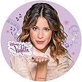 Tortenaufleger Violetta 002