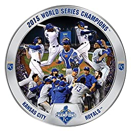Kansas City Royals 2015 World Series Champions Commemorative Plate by The Bradford Exchange