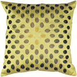 Rizzy Home T-4139 18-Inch by 18-Inch Decorative Pillows, Green/Green, Set of 2