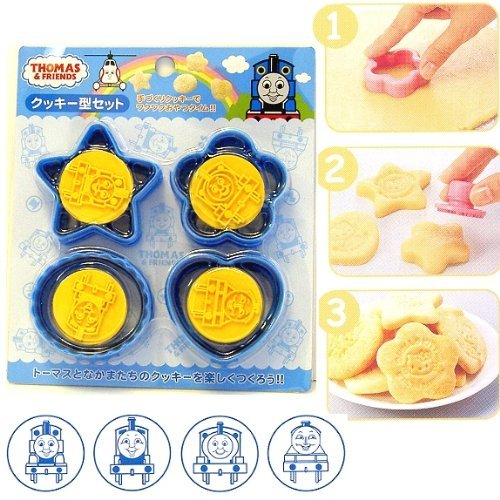 Thomas the Tank Engine & Friends Design Cookie Stamps and Cookie Cutter Set