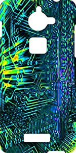 Mstyle Printed Hard Back Case Cover For Coolpad Note 3 Lite