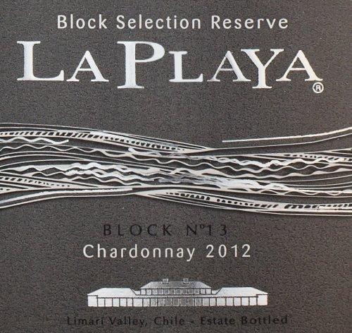 2012 La Playa Block Selection Reserve Chardonnay 750 Ml