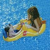 親子浮き輪 タンデムリング&ボート 2人用浮き輪 子供用浮き輪 赤ちゃんうきわ 幼児浮き輪 ベビー用浮き輪 UK3592607184