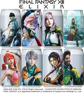 Final Fantasy XIII Potion Elixir Energy Drink Version 1 (1 random can)