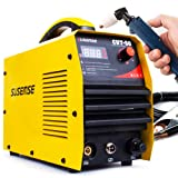 SUSEMSE 50Amp Plasma Cutter Dual Voltage 110/220VAC With Screen LCD Display Max 1/2'' Clean Cut Portable Cuttingr Machine With Cutting Torch Accessories CUT50