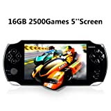 Handheld Game Console, Portable Video Game Console 16GB 5