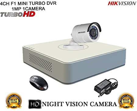 0878b2540 Hikvision CCTV Security System With Turbo DS 7104HGHI F1 MINI 4CH DVR + DS  2CE16COT IRP