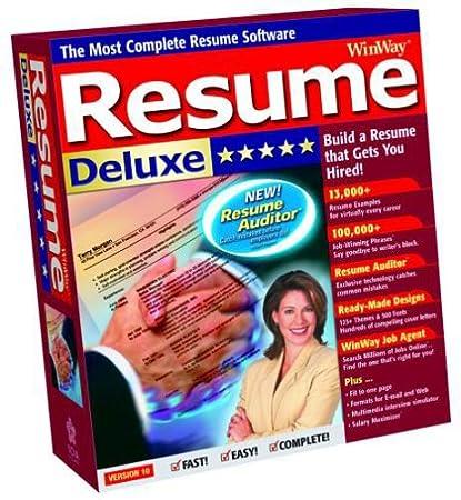 Winway Resume Deluxe 10.0