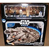 Star Wars OTC Electronic Millennium Falcon with 6 Crew Action Figures Original Trilogy Collection - Sams Club Exclusive