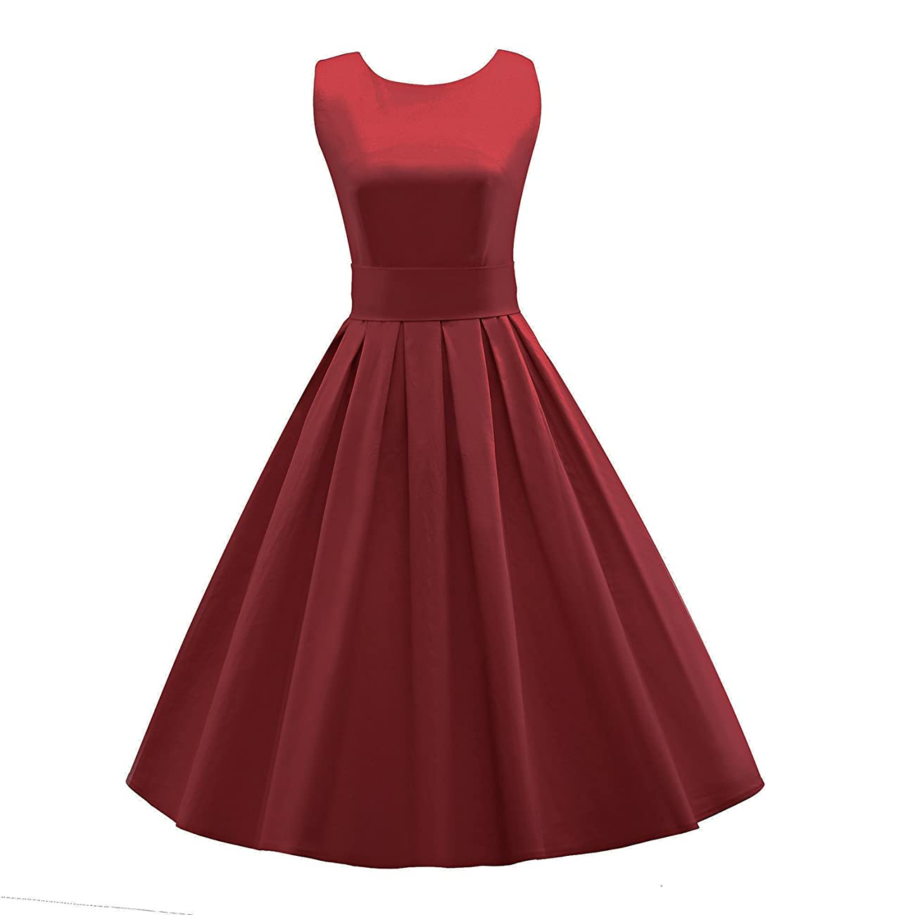 LUOUSE 'Lana' Vintage 1950's Inspired Rockabilly Swing Dress 0