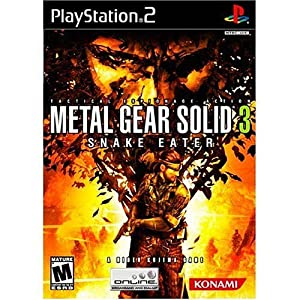 Metal Gear Solid 3 Snake Eater - PlayStation 2