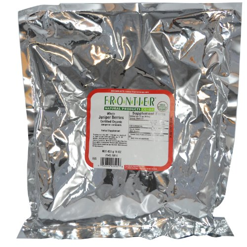 Frontier Natural Products Organic Juniper Berries